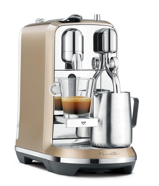 Champagne Coffee Maker ~ Breville nespresso creatista espresso and coffee maker